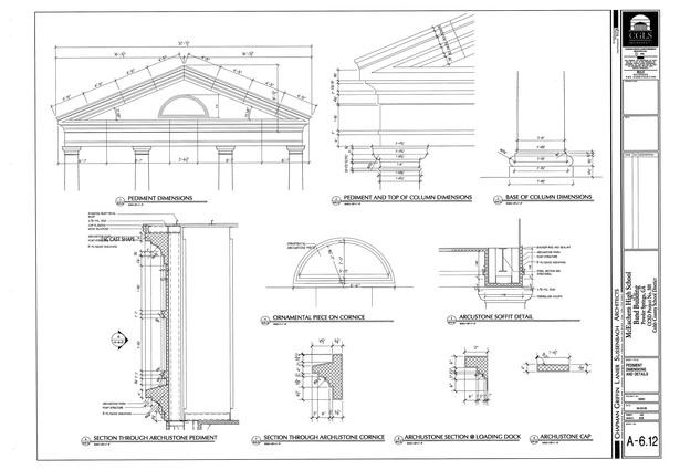 McEachern Band Building-building details