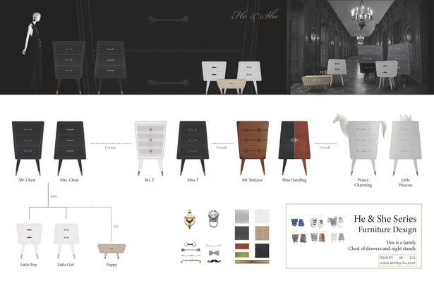 He & She Series - Furniture Design