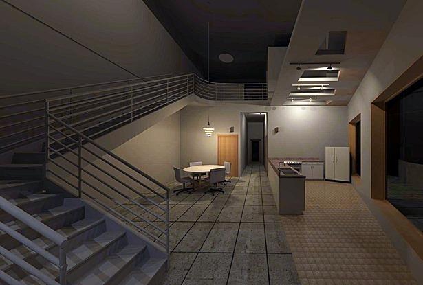 4bd, 4bth Unit Interior Perspective