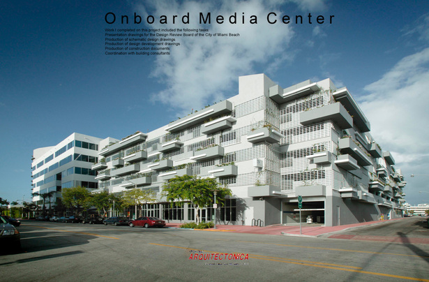 Onboard Media Center-Office/Parking-built project