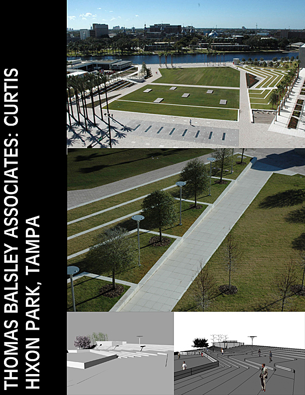 Curtis Hixon Park, Thomas Balsley Associates