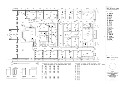 Floor Plan, developed with VectorWorks