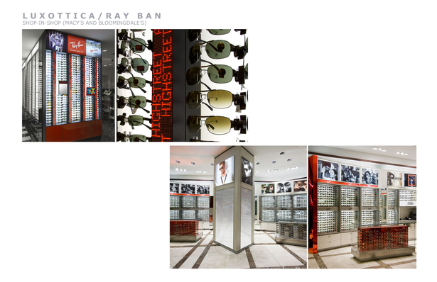 Sunglass shop-in-Shop (Bloomingdale's and Macy's)