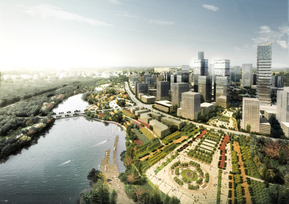 Zhongyuan District Regional Planning (Phase I: Waterfront ...