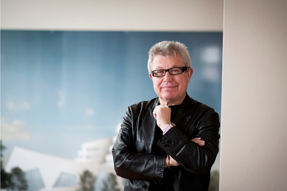 Daniel Libeskind. Photograph by Timur Emek/AP.