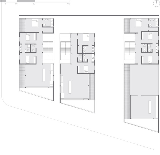 Plan - second floor (Image: Eric Laine & Suzanne Steelman)