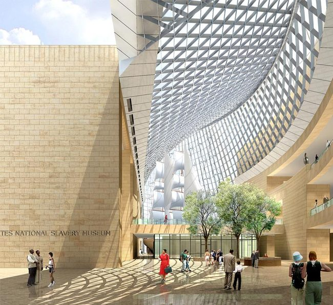 Design for the US National Slavery Museum, by Pei Partnership Architects