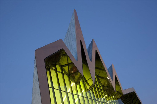 Winner of the European Museum Academy Micheletti Award 2012: Riverside Museum in Glasgow, designed by Zaha Hadid Architects (Photo: McAteer)