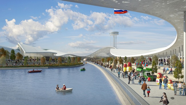 Park Russia winning proposal by Cushman & Wakefield consortium. Image © Gillespies LLP
