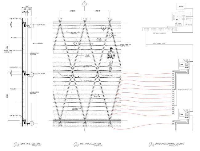 دیتیل برج نامرئی ، نحوه ساخت برج نامرئی
