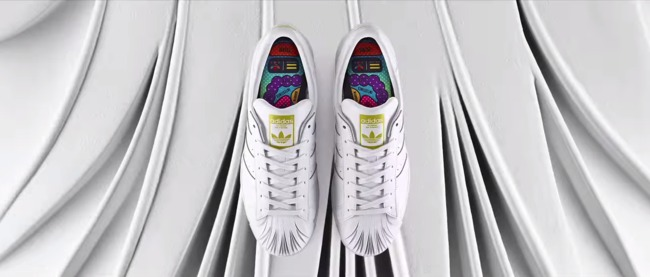 "Screenshot via ""adidas Originals = Pharrell Williams 