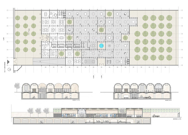 design for the National Museum of Afghanistan by Spanish team AV 62 Arquitectos