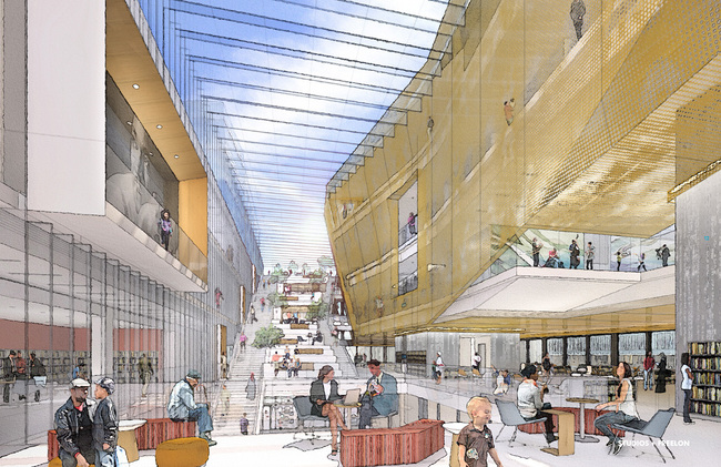 MLK Renovation Design Ideas, Team 3- STUDIOS + Freelon