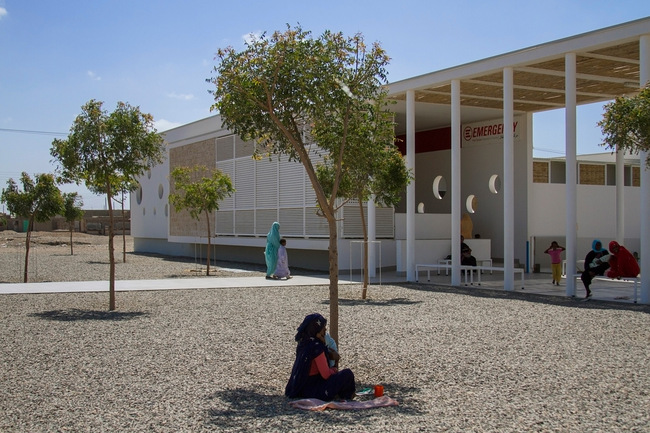 The Port Sudan clinic is one of few outposts the region capable of providing basic health care to children. Credit Massimo Grimaldi and Emergency.