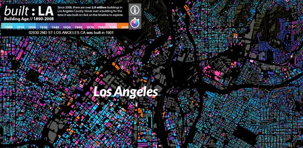 Screen shot of the built: LA data visualization project. (Image via citylab.com)