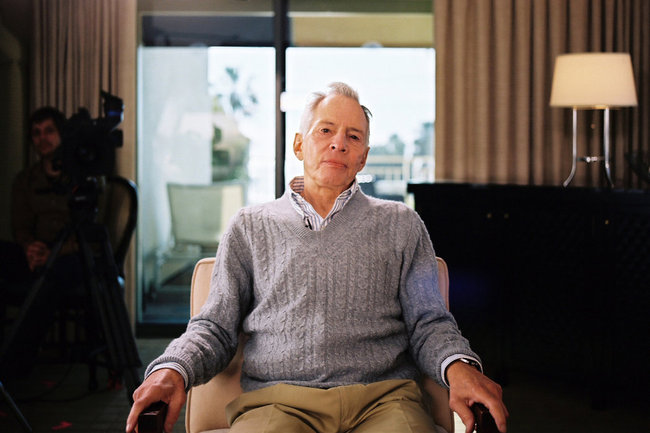 """I killed them all, of course,"" Robert Durst was captured saying by the documentarians making 'the Jinx.' Image credit: HBO"