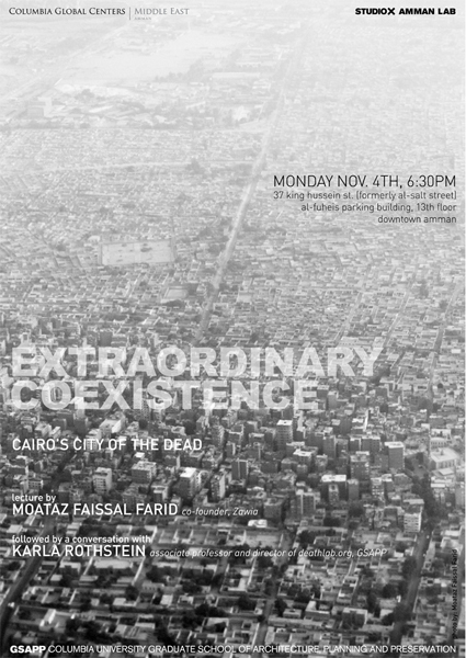 DeathLab - EXTRAORDINARY COEXISTENCE: Cairo's City of the Dead