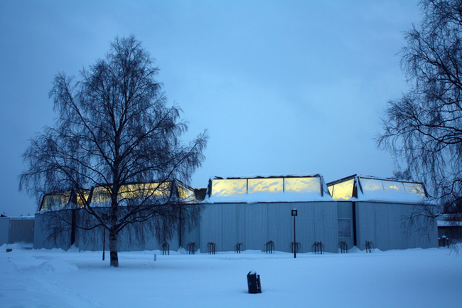 The Regional Library of Lapland, Alvar Aalto. (1965)