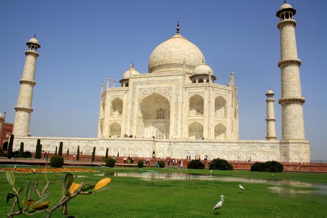 Taj Mahal, via Wikimedia/Anand Prakash.