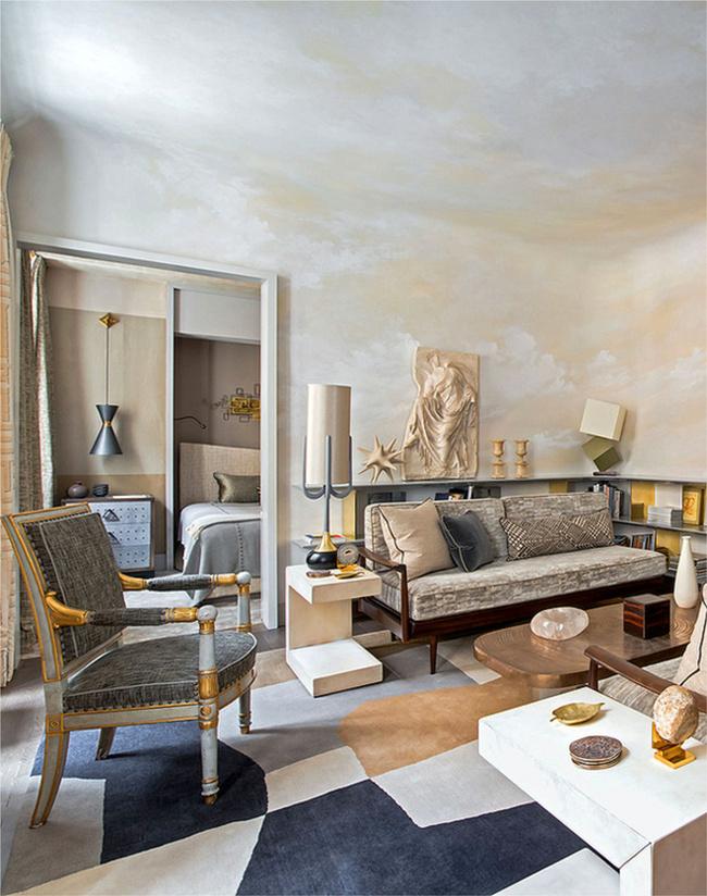 Parisian apartment of designer jean louis deniot gallery for Designer apartment paris