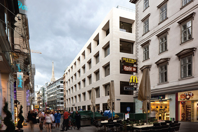 David Chipperfield Architects, with Peek & Cloppenburg Flagship Store Vienna, Austria
