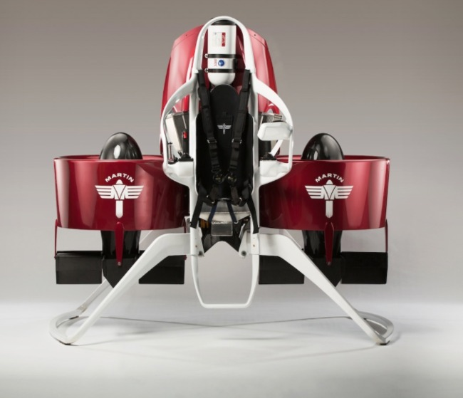 Dubai recently agree to a future purchase of jetpacks from Martin Aviation, for use by emergency responders. Credit: Martin Aviation