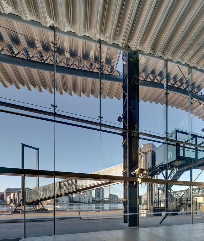 Shortlisted in Transport: Sydney Cruise Terminal by Johnson Pilton Walker Architects, Johnson Pilton Walker (Australia)