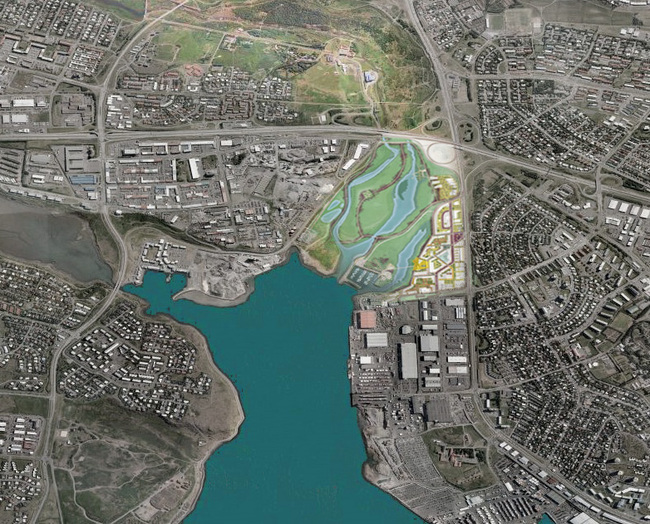 برندگان طراحی منظر ریکیاویک ایسلند
