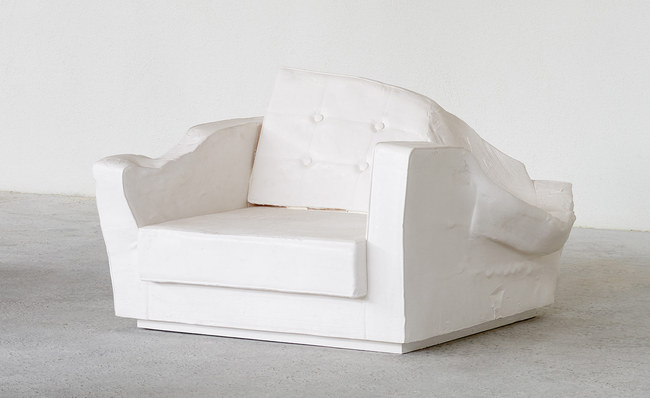 Triple Seat (Fauteuil White), 2015.