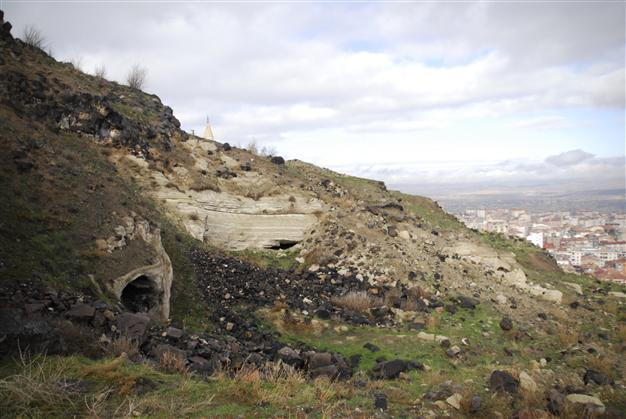 An underground city newly discovered in Turkey's Central Anatolian province of Nevşehir, which is located under the Nevşehir fortress and the surrounding area, may be the biggest archeological finding of 2014, which is soon to end. AA Photo. Image via hurriyetdailynews.com