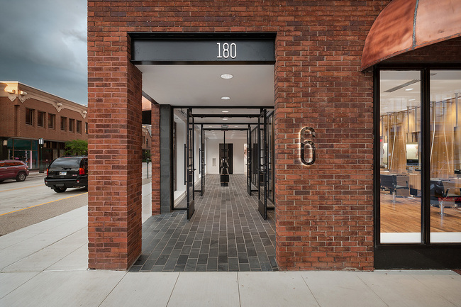 Ten top images on archinect 39 s bricks stones pinterest for 6 salon birmingham michigan