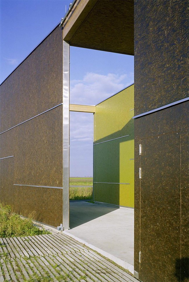 Leeb Fruit Orchard in St. Andr am Zicksee, Austria by Architects Collective (Photo: Wolfgang Thaler)