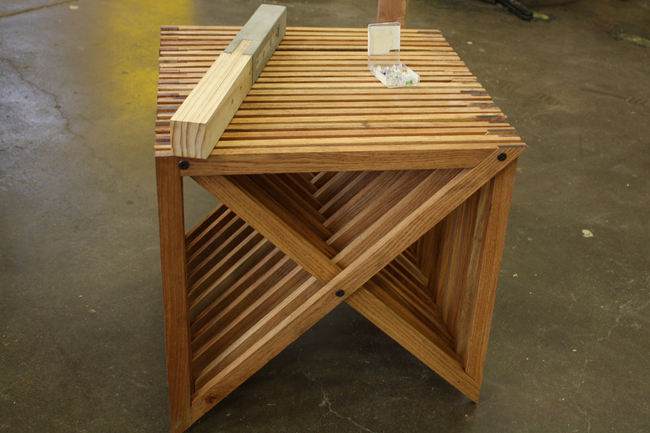 Table Designed by Allison Adderley
