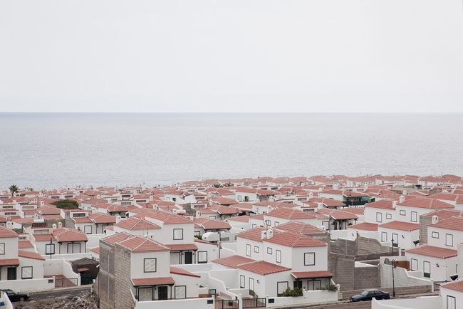 Instant village Tenerife Island, Canaries New housing. 2010 ©Simona Rota
