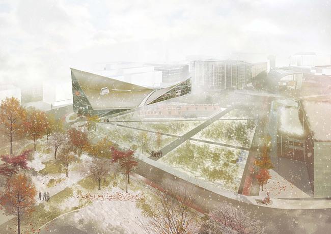 Exterior rendering (Image: OODA)