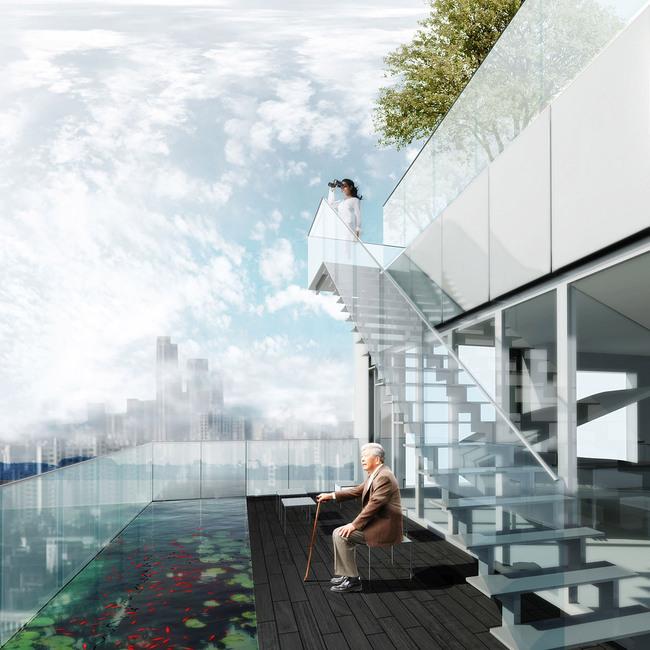 Apartment corner (Image: MVRDV)