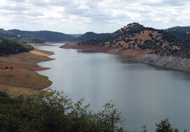 Don Pedro Lake near La Grange, CA at 53% capacity. Credit: docentjoyce/Flickr