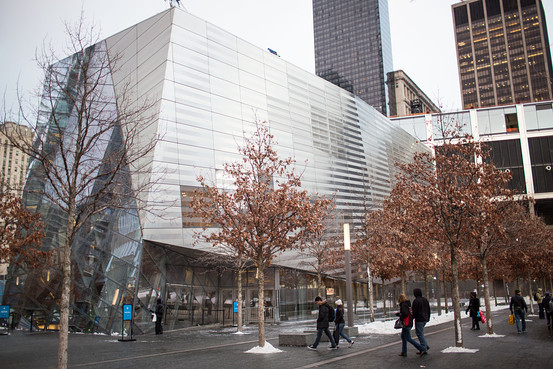 The 9/11 Memorial Museum is pictured in January. (Ramsay de Give for The Wall Street Journal)