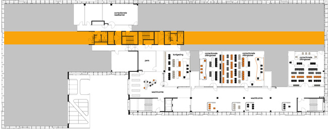 Floor plan 2. Image courtesy of J. MAYER H. Architects