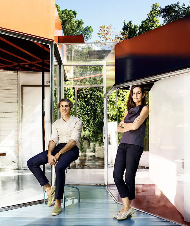 José Selgas and Lucía Cano. Portrait courtesy of the architects
