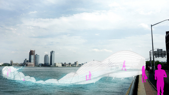 "AECOM's ""Light Transporter"" rendering. Image: AECOM."