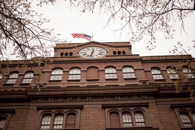 Cooper Union, which until this year was free for undergraduates, said that it had fewer applicants, but had admitted a higher percentage of them. Michael Nagle for The New York Times.