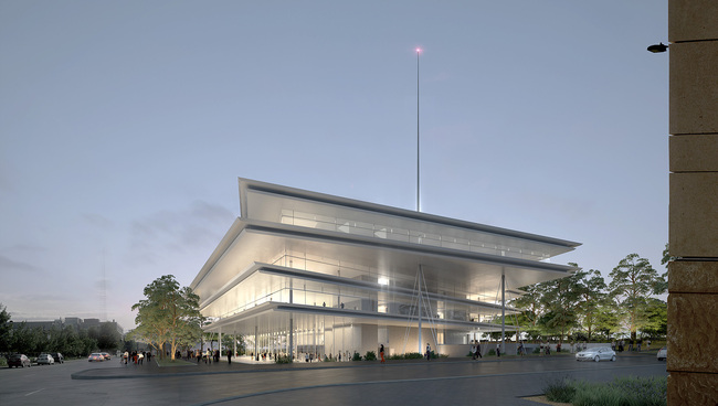Renzo Piano Completes Krause Gateway Center In Des: Renzo Piano's Kum & Go HQ Enters Construction Phase + New