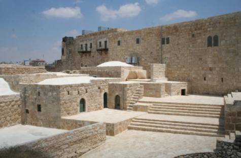 Michel Salameh's Adh Dhariyeh project has restored Roman-era structures in south Hebron to their past glory