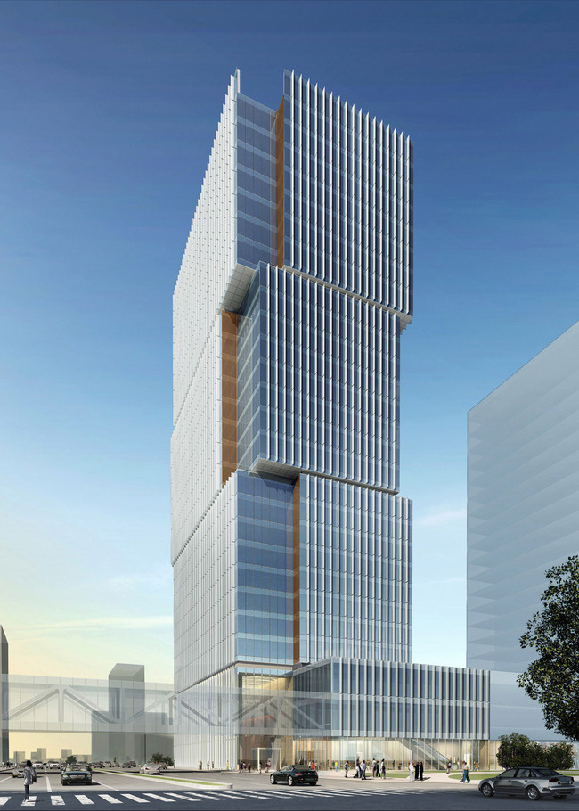 Overall view (Image: Goettsch Partners)