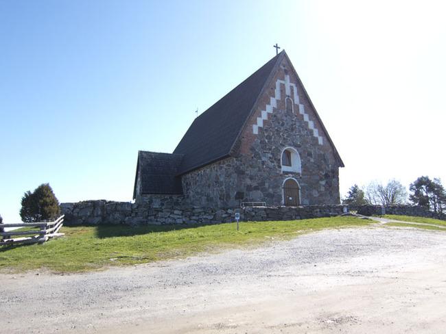Tyrvää Church Exterior