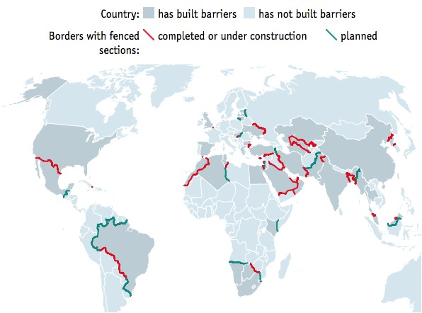 The whole world is building border fences to keep out invaders img gumiabroncs Choice Image