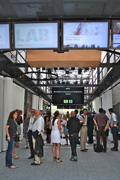 The BMW Guggenheim Lab premiered in New York in August 2011 via Der Spiegel
