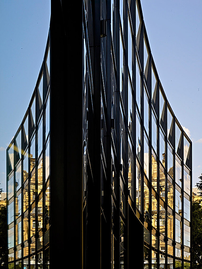 Shortlisted: The Angel Building, London, UK by Allford Hall Monaghan Morris (Photo: Tim Soar)