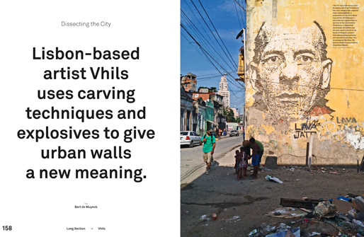 VHILS | Dissecting the City | MARK Magazine#52